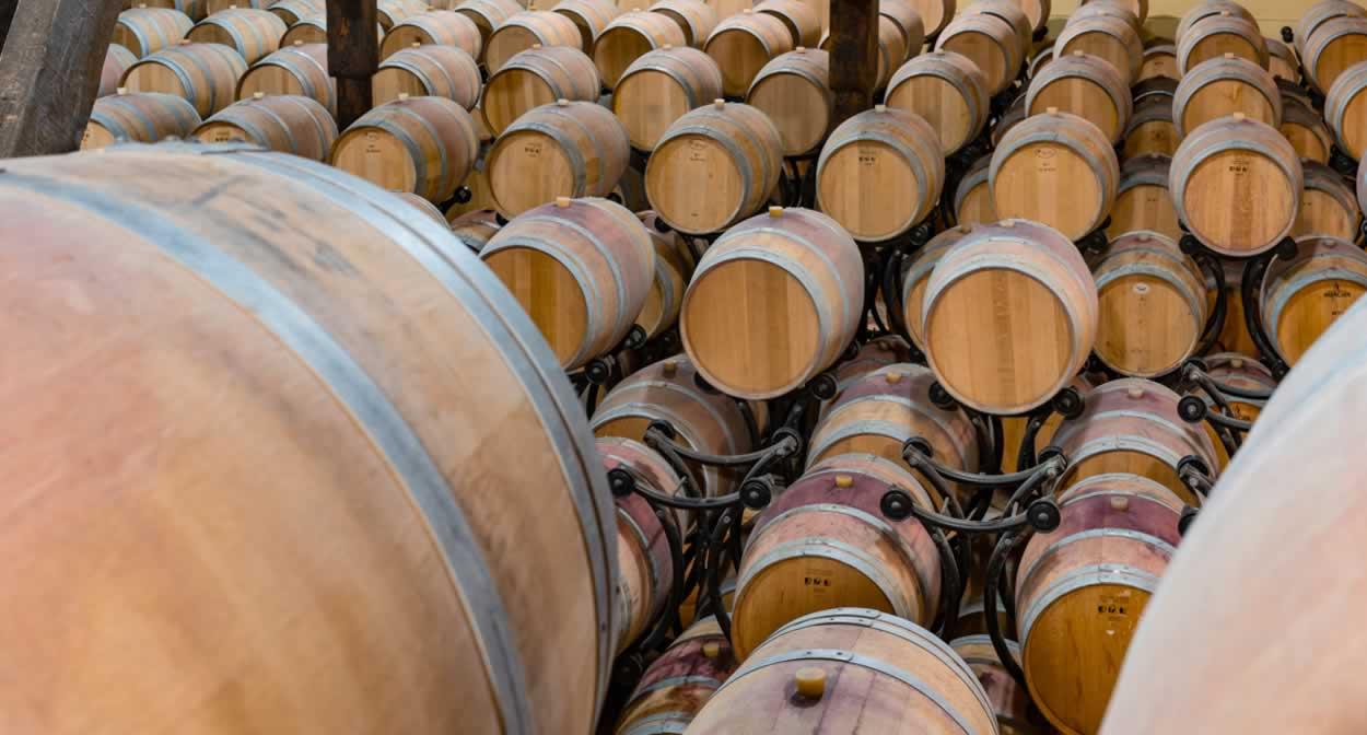 The barrel cellar © Nicolas Claris