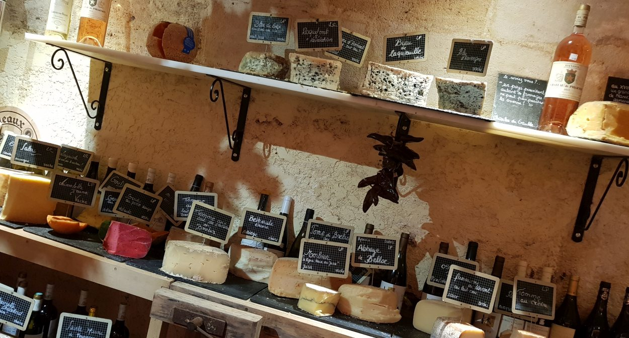 Baud et Millet wine and cheese cellar © Baud et Millet