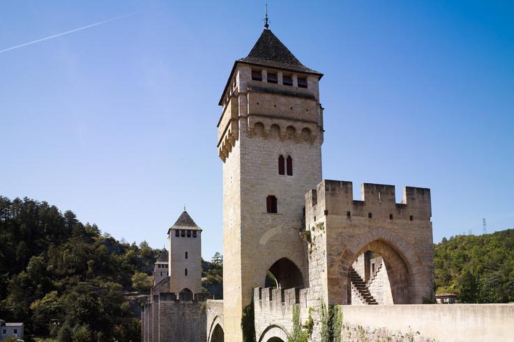 Pont Valentre unesco cahors lot os saveurs sud ouest @CRT Midi Pyrenees / D. Viet