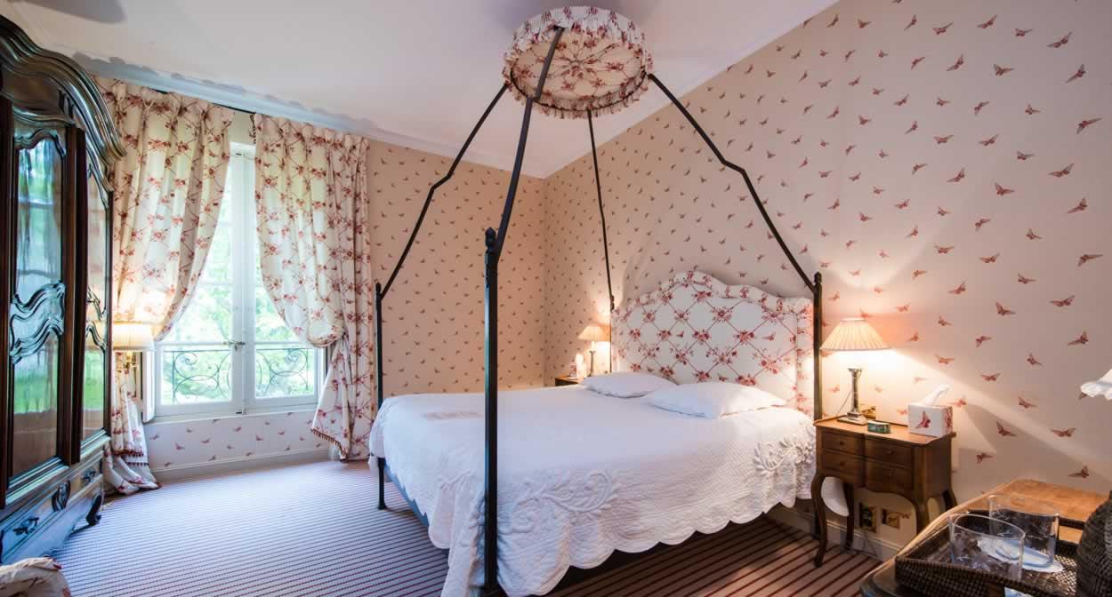 Chambre Chateau Gigognan © Thomas O'brien
