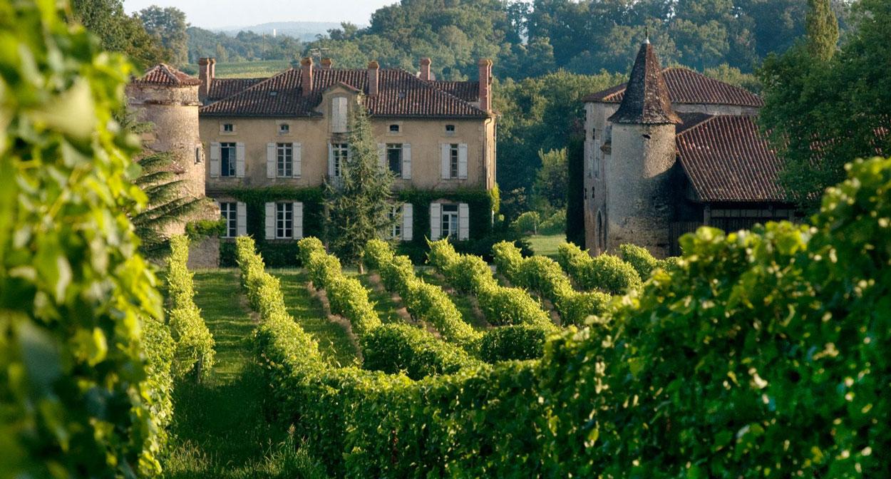 Chateau de Maniban in Armagnac