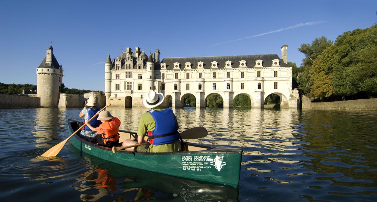 Château de Chenonceau, vignoble du Val de Loire © JFSouchard CRT Centre Val de Loire