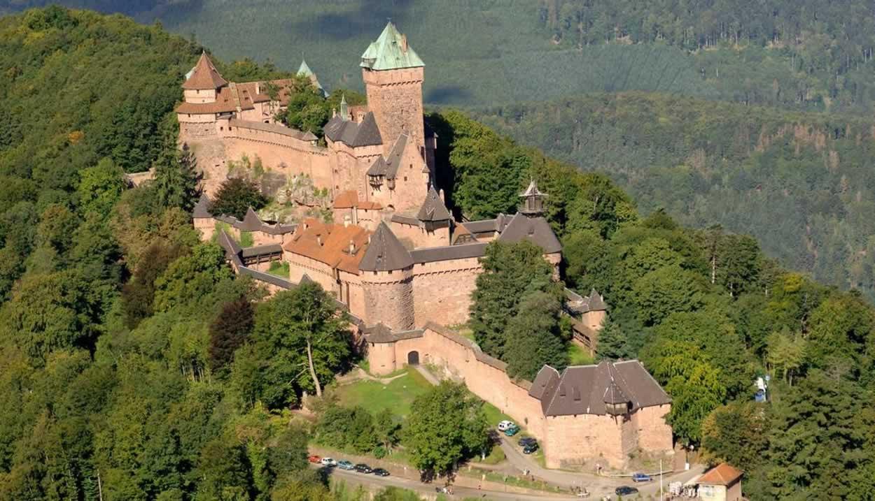 Château du Haut-Koenigsbourg ©CD67