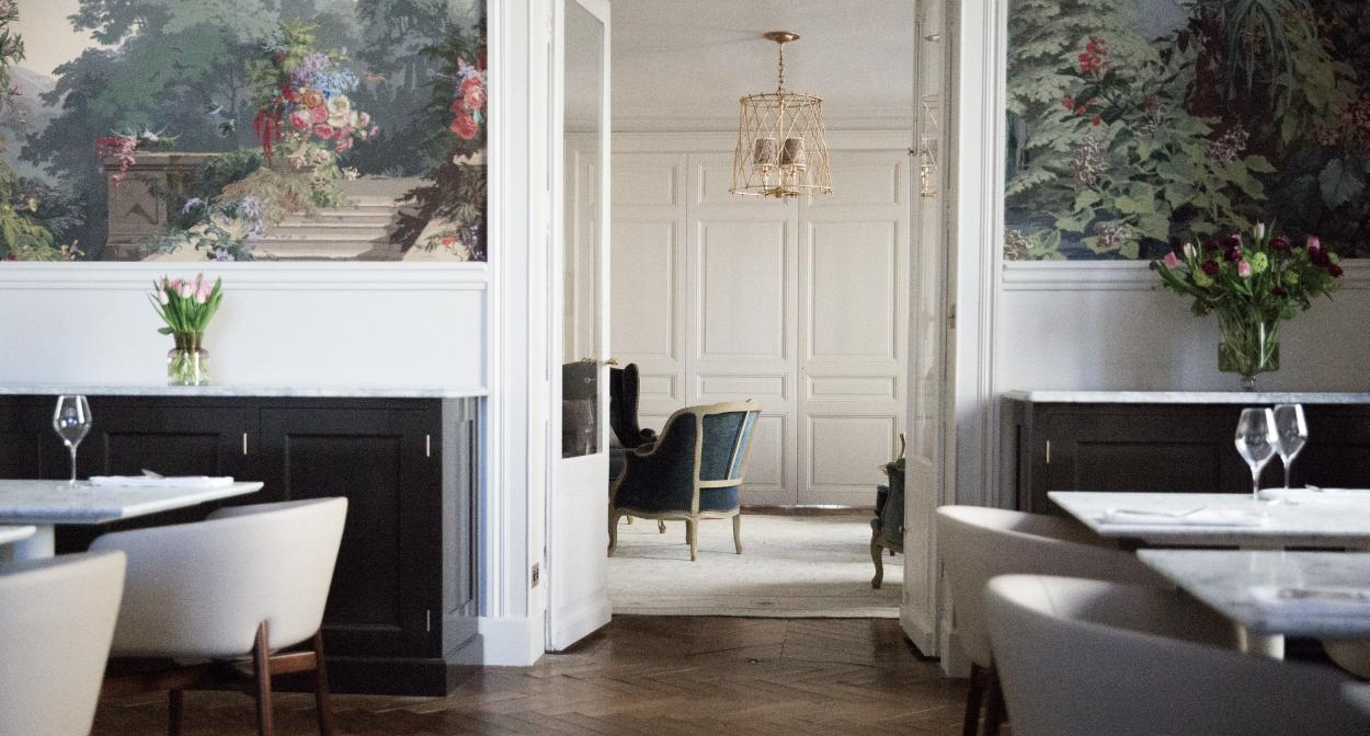 Dining room, Gastronomy, Maison Leclerc Briant ©Leclerc Briant