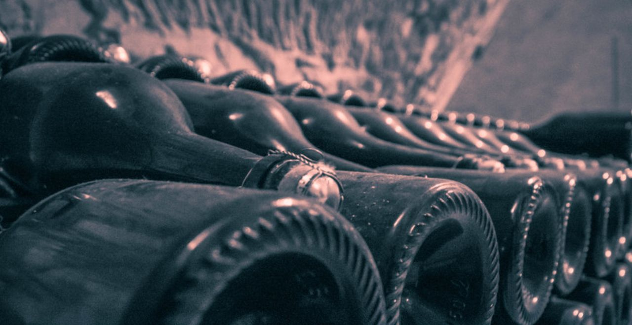 Champagne cellar ©Carol Cain