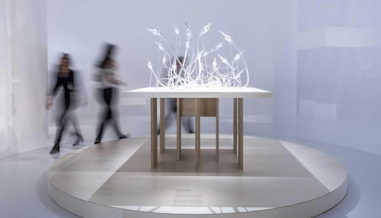 ExpoRenversant.BD┬®ANAKA-20 © Anaka / La Cité du Vin / Exposition Renversant / Berdaguer & Pejus - Jardin d'addiction, maquette – 2011 - Collection de l'artiste