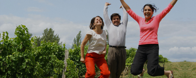 Rozes family winemakers in Gers ©Armagnac - Domaine d'Aurensan