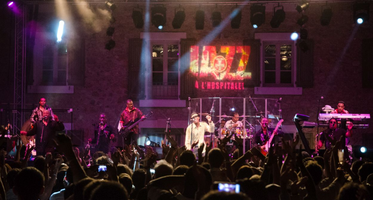 Festival jazz à l'Hospitalet concert en plein air et vins Languedoc ©Soufiane Zaidi