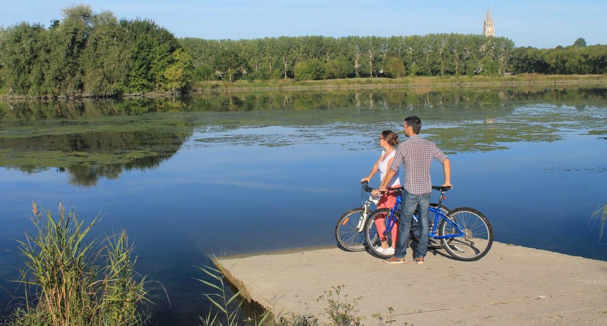 La Flow Vélo traverse la Saintonge Romane © Stéphanie Nadouce