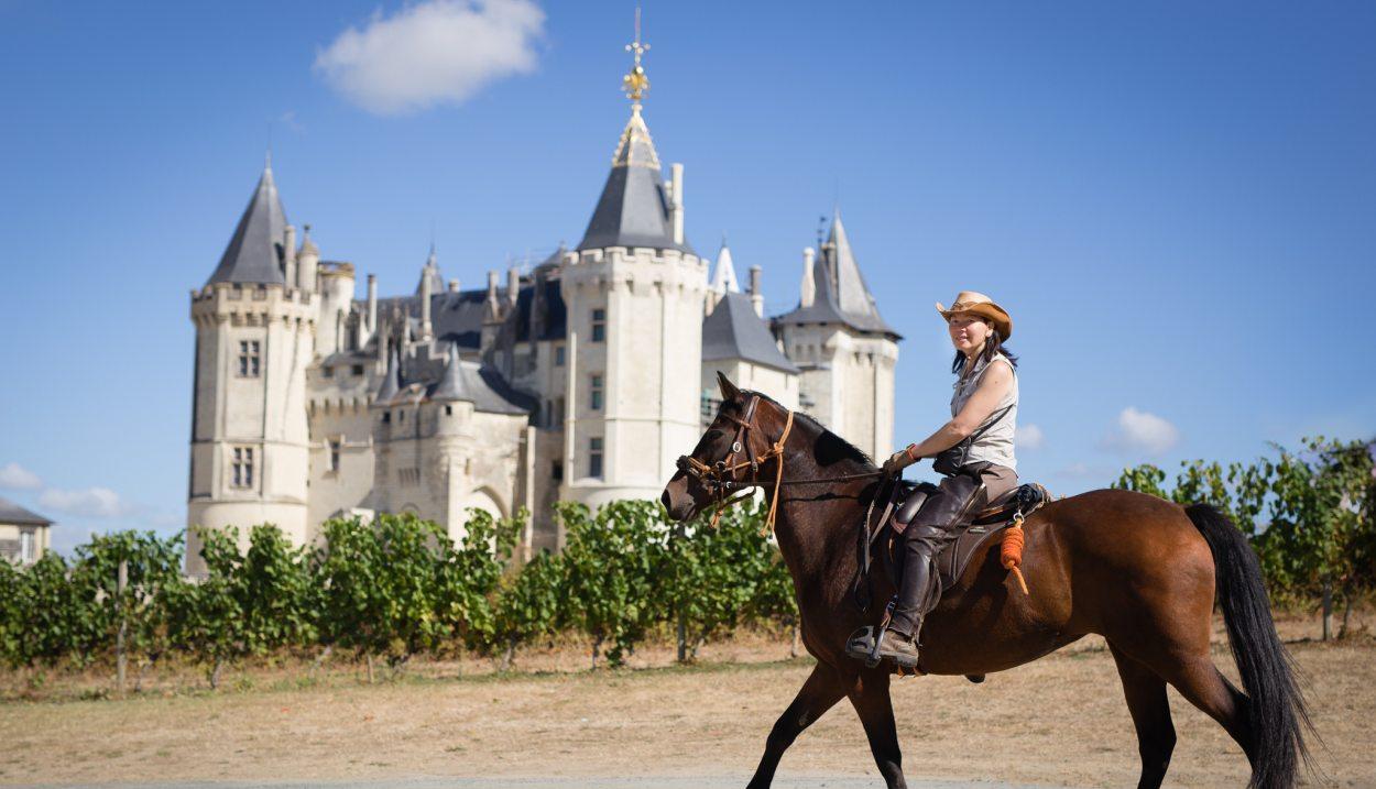 Horseriding © F4-Frédéric.Ayroulet- LES VINS DE SAUMUR
