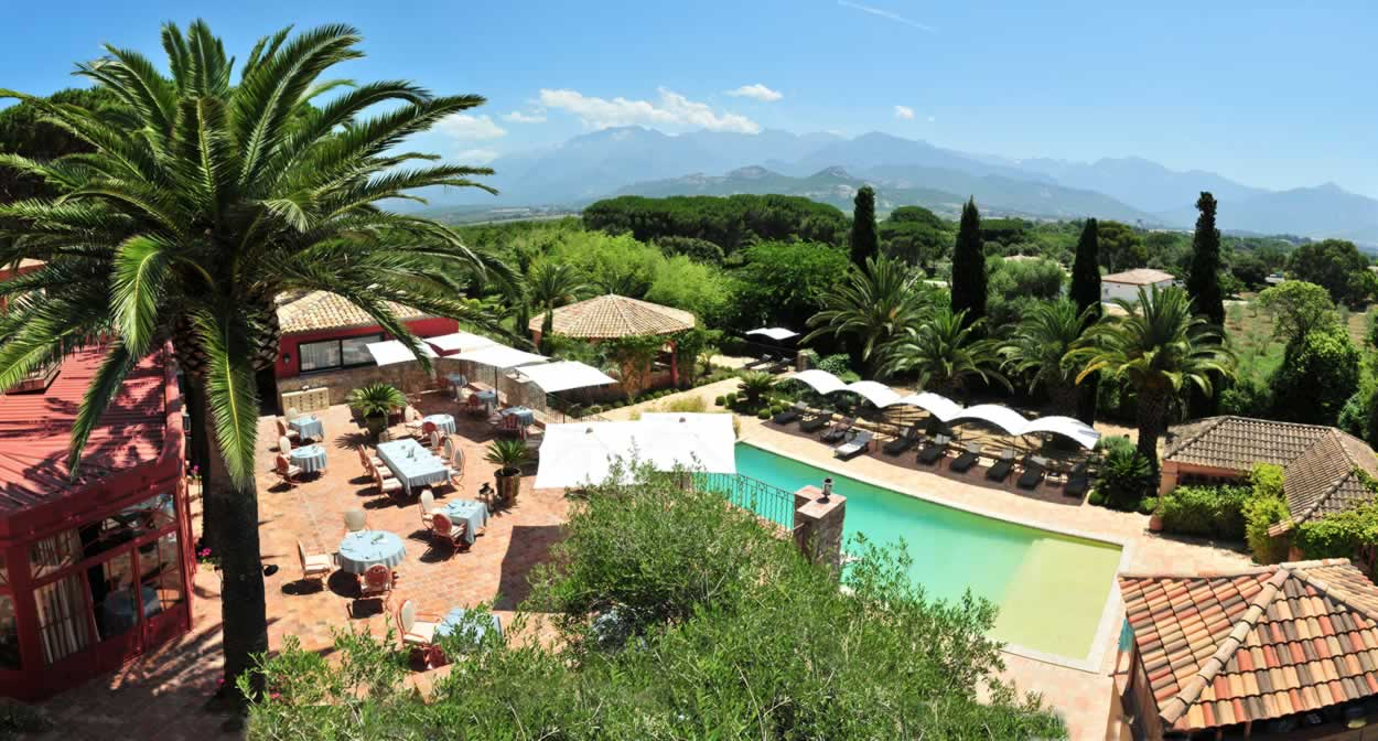 La Signoria & Spa, Corsica vineyard © Relais & Châteaux
