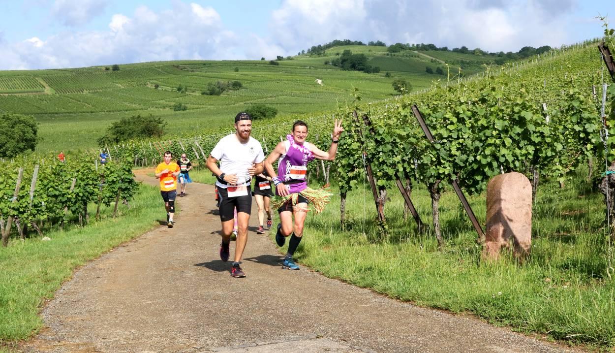 A sporty and fun weekend © Photo Marathon du vignoble