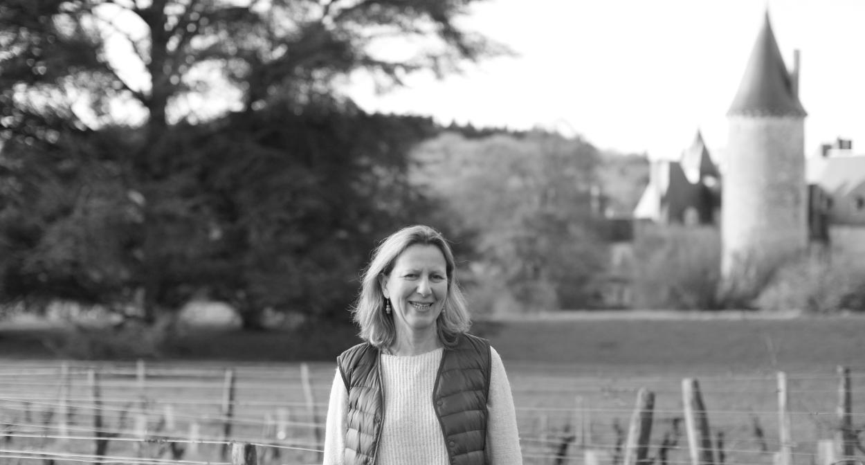 Juliette d'Assay, co-propriétaire du Château de Tracy © sarl Château de Tracy