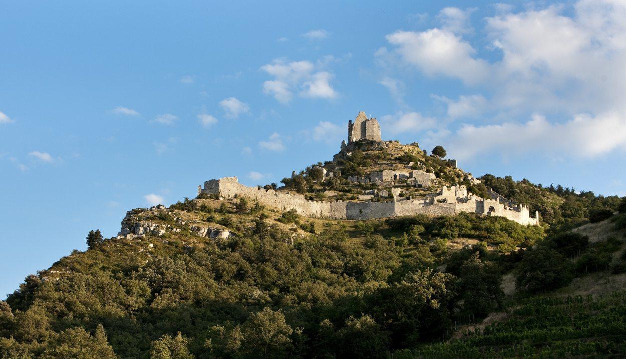 Le Chateau de Crussol © Christophe Grilhé