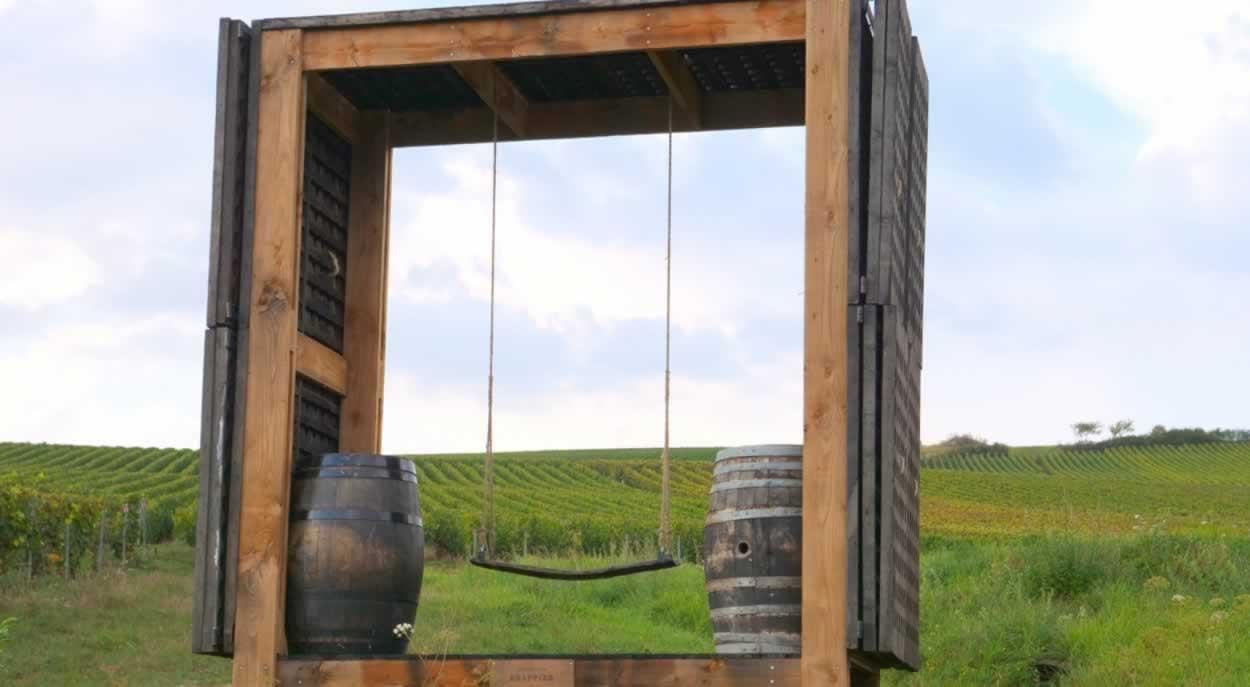 Loge balancoire - Champagne Drapiier - Urville@MACA