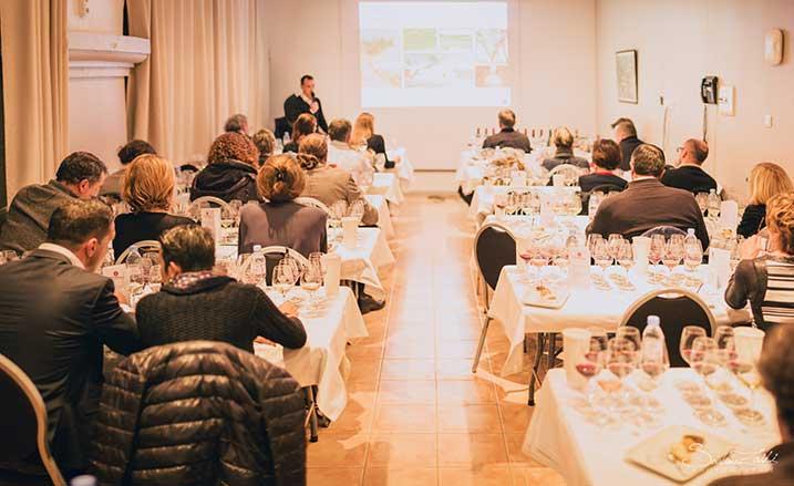 masterclass dégustation grands vins Gérard Bertrand languedoc fête de la taille château l'hospitalet ©Sofiane Zaidi