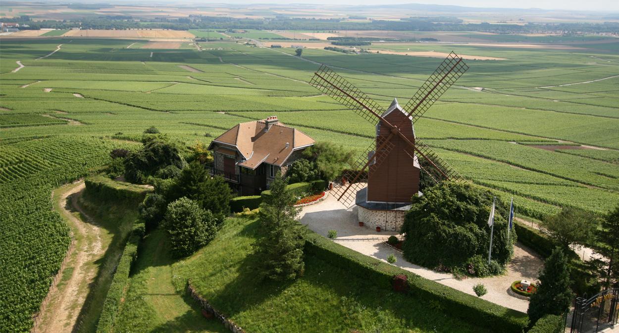 Moulin de Verzenay in champagne