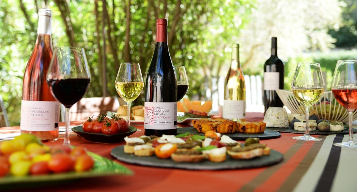 Pique-nique vigneron au Château Mourgues du Grès ©Château Mourgues du Grès