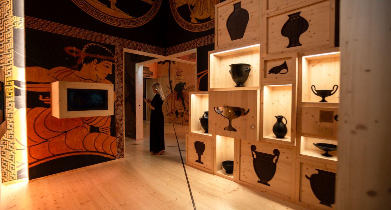 Parcours permanent-Galerie des civilisations 2 -CCV-StudioMB © La Cité du Vin / Mamie Boude