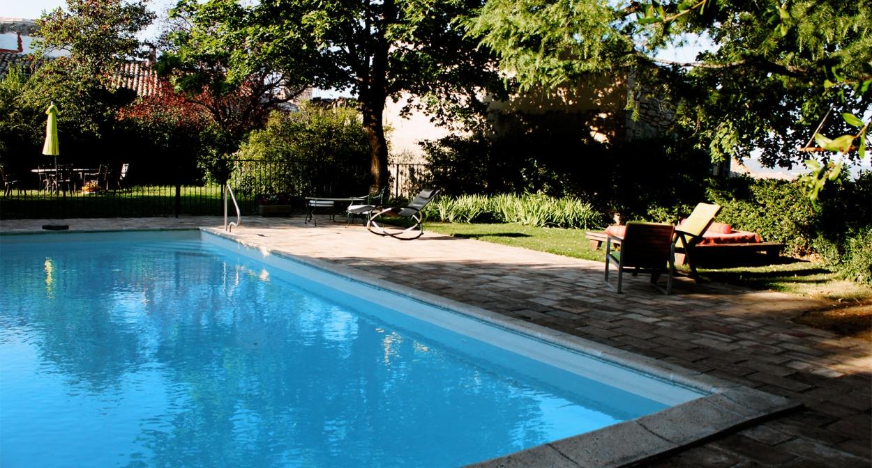 La piscine des Aires Passagères © Les Aires Passagères