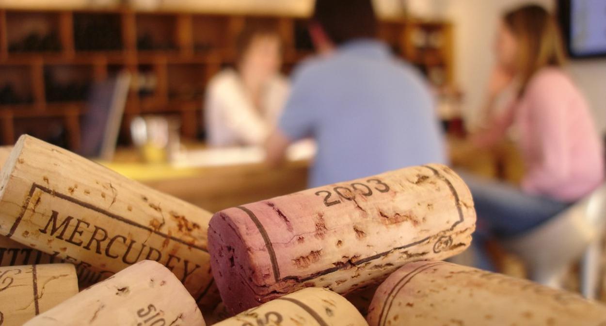 Sensation vin, Burgundy vineyard