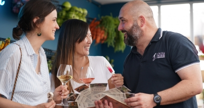 Accords mets & vins à l'École du Vin de Bordeaux © M. Anglada