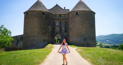Château near Mâcon, Burgundy ©Kirtsen Sarah