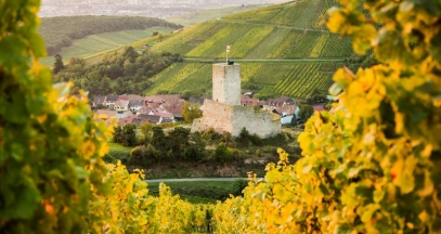 Wineck-Schlossberg castle in Katzenthal © VUANO-ConseilVinsAlsace