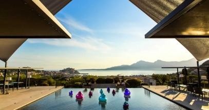 La Villa Calvi, Corsica vineyard © Pierre-Emmanuel Rastoin