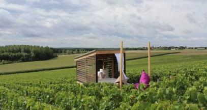 Loge lit - La Loge Vigneronne@Jean Philippe Menu