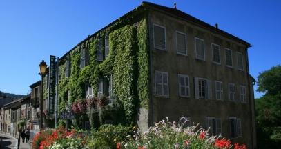La Maison Pasteur à Arbois en été© EPCC Terre de Louis Pasteur