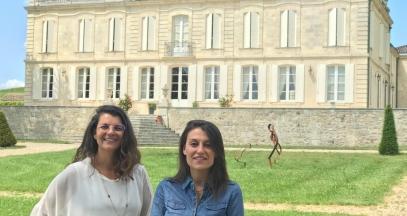 Marion Merker and Stéphanie Barousse of Château de La Dauphine