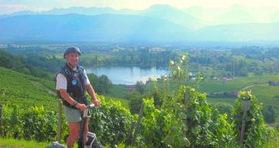 Randonnée et oenologie dans vignoble Savoie ©Bernard VIssoud
