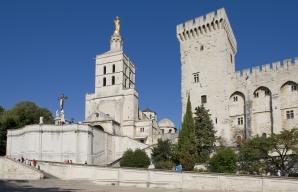 Palace of the Popes Avignon France © Christophe Grilhé