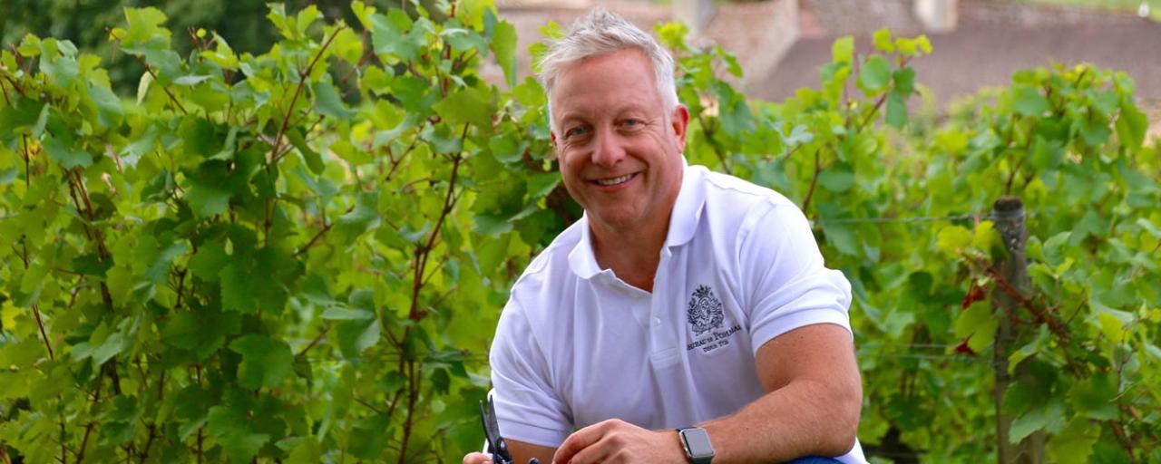 Michael Baum, CEO & Propriétaire of Château de Pommard © Famille Carabello-Baum