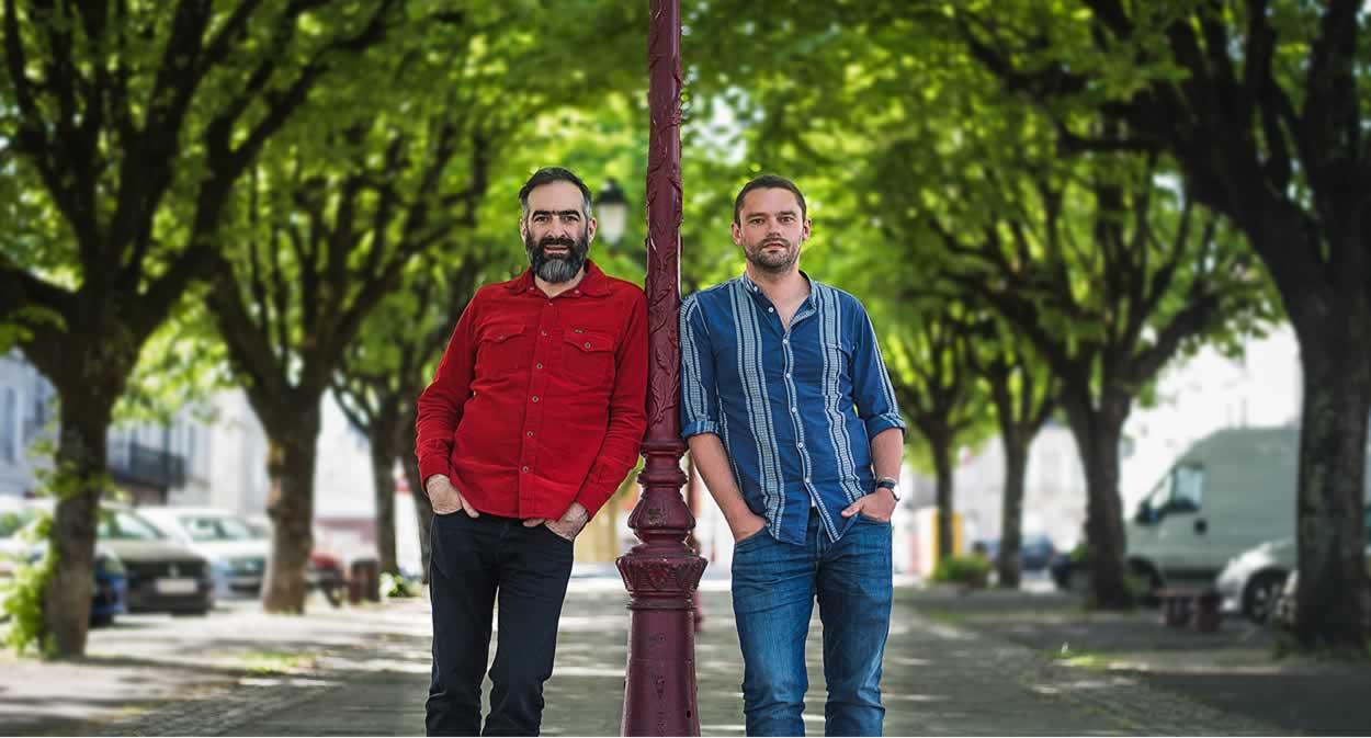 Tony Conigliaro and Guillaume Le Dorner ©Bar Luciole
