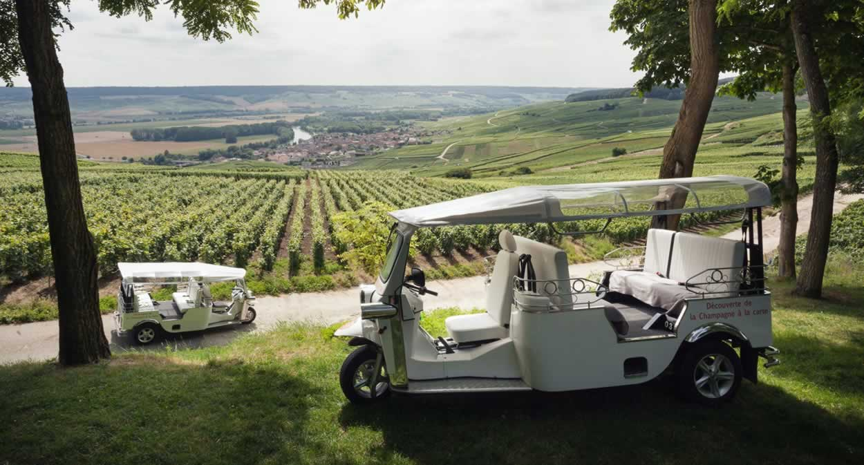 2CV road trip – Champagne PH. Martin – Cumières © Champagne Ph. Martin