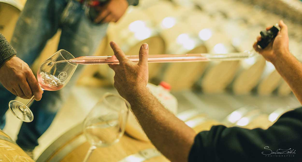 Wine workshop at the Chateau l'Hospitalet