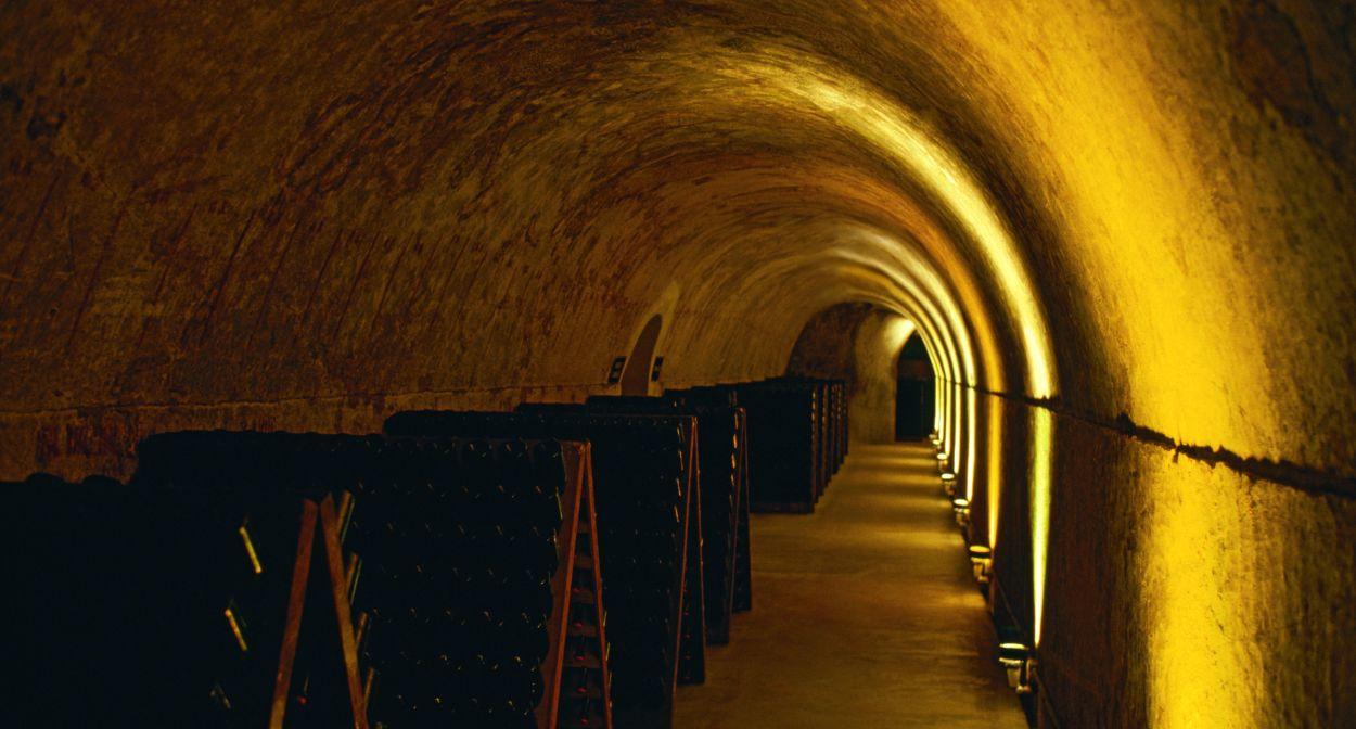 Cellars of Mumm Champagne